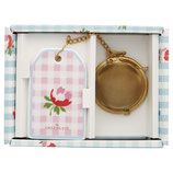 Greengate Tee-Ei Tea Infuser Viole Check pale pink