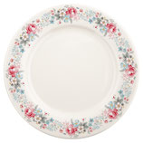 Greengate Großer Speiseteller Dinnerplate Marie Pale Grey