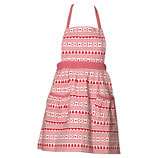 Greengate Kinderschürze Apron December Red