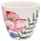 Greengate Latte Cup Magnolia White