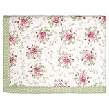 Tagesdecke Quilt Mary white 140 x 220 cm gesteppt