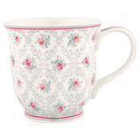 Greengate Mug Henkelbecher Teetasse Daisy pale grey