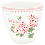 Greengate Latte Cup Luna white