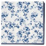 Greengate Papierservietten Vanessa blue