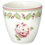Greengate Mini Latte Cup Lily petit white