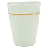 Greengate Cup Becher Pale Green Mint gold