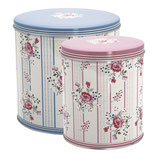 Greengate Dosen 2er Set Fiona pale blue
