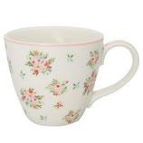 Greengate Mug Henkelbecher Teetasse Abigail white