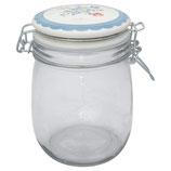 Greengate Vorratsglas 0,75 Liter Henrietta pale blue