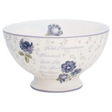 Greengate Schälchen Soupbowl Beatrice white