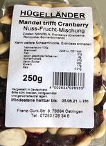 Mandel trifft Cranberry