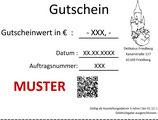 Online Gutschein zum ausdrucken !