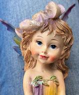 Elfe mit Blume 13,5cm