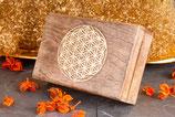 Holzbox Blume des Lebens