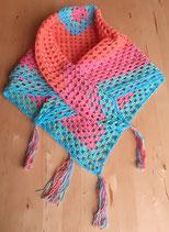 Dreieckstuch - Kopftuch - Tischdecke - Babydecke