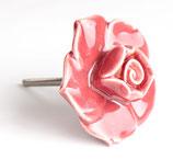 Keramiktürknäufe Rose