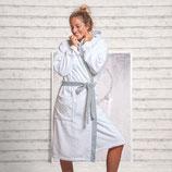 Damen Bademantel mit Kapuze