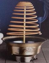 Räucherhalter für Spiralen Brenndauer 1 Tag