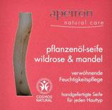 Pflanzenölseife Wildrose - Mandel