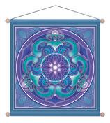 Wandbild Lotus / Chakras