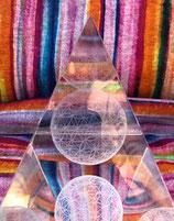 Sphärenkristall - Pyramide