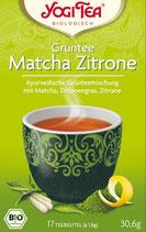 YOGI TEE - Grüntee Matcha Zitrone