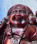 Buddha dunkelrot