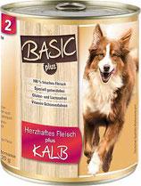 Nr. 02 - Kalbfleisch - ARAS BASIC-plus Hund