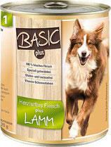 Nr. 01 - Lammfleisch - ARAS BASIC-plus Hund -