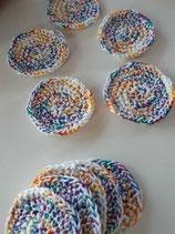Zero Waste ... 3 Abschminkpads als Set ... in vielen hübschen Farben