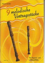 9 Melodische Vortragsstücke