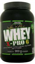 Produktname WHEY X- PRO 6 IN 900g. 2,2kg. Gesch: Vanille, Erdbeer, Schoko, Cokies-Cream.
