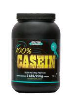 """Produktname 100% CASEIN""""NACHT PROTEIN"""" IN 900g. 2,0kg. Geschmacks: Vanille, Erdbeer, Kokos."""