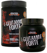 Produktname L-Glutamine Forte in 1000 und 500 Tabletten