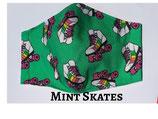 Mint Skates Pocket Mask