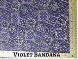 Violet Bandana Pocket Mask