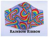Rainbow Ribbon Pocket Mask