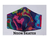Neon Skates Pocket Mask