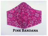 Pink Bandana Pocket Mask