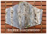 Silver Birchwood Pocket Mask