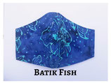 Batik Fish Pocket Mask