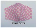 Pink Dots Pocket Mask