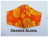 Orange Aloha Pocket Mask