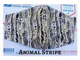 Animal Stripe Pocket Mask