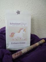 Einhorn-Eistee inkl. Regenbogenzucker