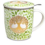 Tee-Tasse Baum des Lebens