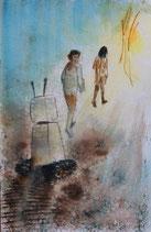La fée de Westerbork, le départ, reproduction de qualité, A5