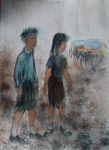 La fée de Westerbork, les enfants, reproduction de qualité, A5