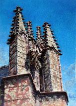 Le dragon de kernascleden, Morbihan.