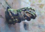 la grenouille couillue de Lampaul Guimiliau